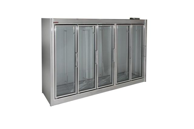 Universal Coolers Glass Door Cooler Model Adm 5s
