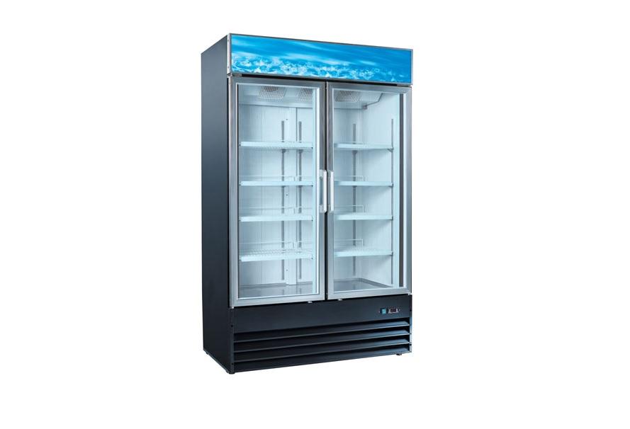 Universal Coolers Two Glass Door Merchandiser