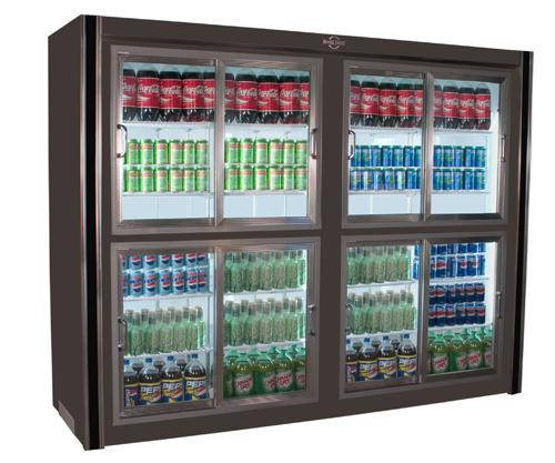 Universal Coolers Sliding Glass Door
