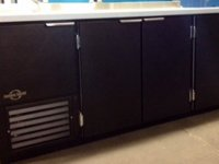 Black Vinyl Units can be made to any size